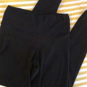 Lot 2 pair soft black leggings